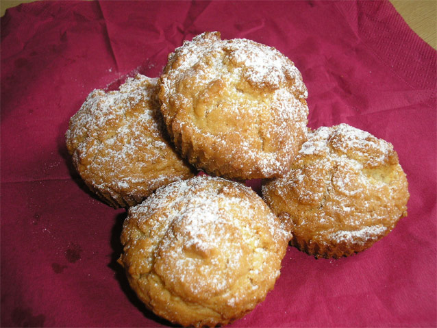 Muffin alla nocciola