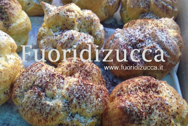 bigne' alla crema di castagne