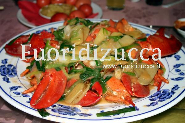 astice in salsa orto e mare